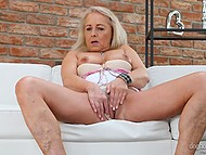 Stunning Euro matures seductively undress to demonstrate they are still in great shape for sex 9