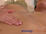 Sensual massage turns into hot fuck with masseur 6