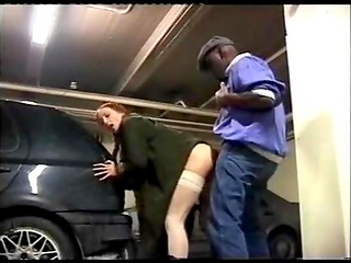 Young Swedish whore Amandla explores the fun of public sex with dark-skinned man