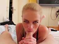 Beautiful Danish lady gives deep and skillful blowjob 7