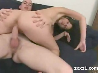 Tight cunt gets warm load inside