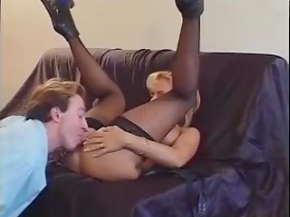 Blonde woman Regina gets bum fucked