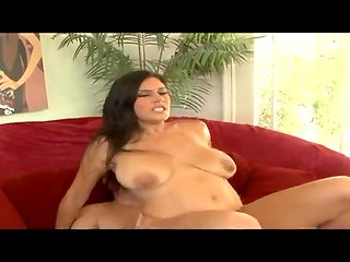 Hot tattooed latina gets her cunt banged