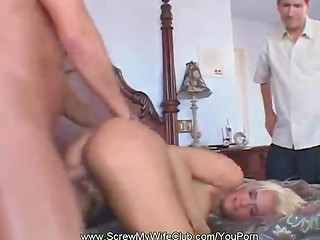 Husband wants to watch his wifey fucked by another man