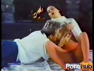Great Danish vintage video presents amazing threesome sex scene with hot ladies and lucky dude