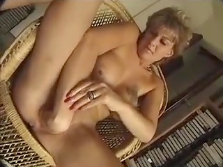 Slutty mature gets drilled hard in her inviting butthole