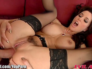 Young married woman Gia DiMarco gets her butt hole hammered by another man