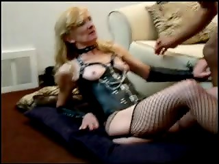 Old slut Virginia Knight loves to fuck black guy with strong cock