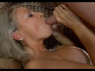 Beautiful Russian MILF gets massaged and then banged by handsome young guy
