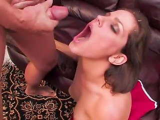 Charming temptresses getting glazed with cum - compilation