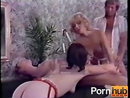 Awesome sex scenes presented by horny chicks and their powerful men