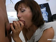 Romantic girl Galina came to casting but she didn't even know how toughly she would be fucked 4