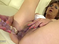 Mature woman wants sex and sturdy black cock drilling pussy and ass is exactly what she needs 4
