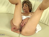 Mature woman wants sex and sturdy black cock drilling pussy and ass is exactly what she needs 5