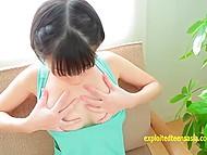 Уборка окончена и азиатка может намазать своё прекрасное тело маслом, попозировав на камеру 7