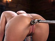 Female is in love with machines that only mission is to give her sexual pleasure and make cum 4
