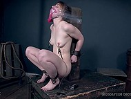 Redhead Kate Kennedy's obedience makes man sure she wants BDSM so he has fun with no limits 11
