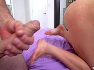 Girl dreams of having sex with big-cocked stepbrother and guy fucks her holes soon 10