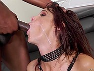 Syren Demer is so experienced slut that she can take two cocks in asshole at once 9