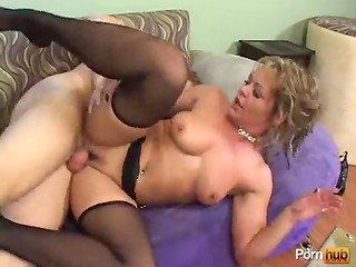 Sexy business lady with dirty dreams and glasses is tired of her husband and decided to fuck this handsome guy