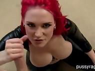 Red hair slut