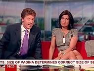 Brunette Susanna Reid teaches how to use sex toys 4