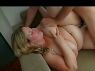 Sexy BBW with fat pussy and massive titties knows how to fuck but needs to learn how to give a head 8