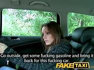 FakeTaxi: sad Hungarian girl gets shagged in taxi cab 5