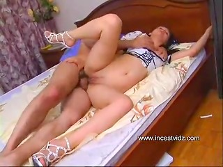 Amazing morning sex to boost stepdaddy's mood