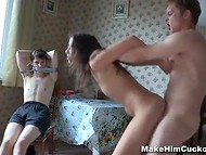 One of the best ways to punish a best friend is to fuck hard his lovely girlfriend 10