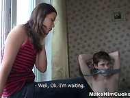 One of the best ways to punish a best friend is to fuck hard his lovely girlfriend 4