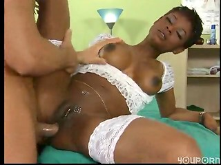 Two Ebony tramps with some lustful appetite enjoyed their hot sex on the working place