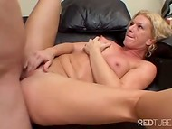Mesmerizing blonde slut with nice tits rides modern pirate's cock with wild passion