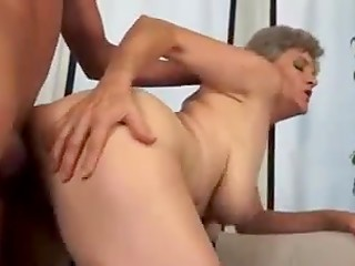 Young guy has strange sexual preferences, he loves to fuck grey-haired mature ladies