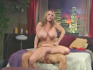 Slutty Lisa Lipps with big silicone tits loves getting her love box shagged