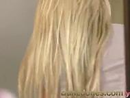 Beautiful sex scene with adorable blonde MILF Dane Jones with her gentle lover 5