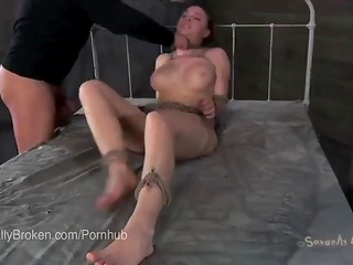 Poor girls get cruelly deepthroated and punished