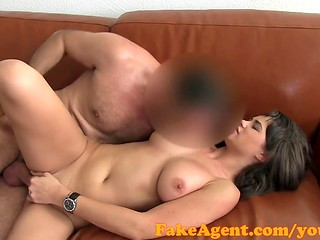 FakeAgent: casting agent is fascinated by charming girl with nice boobies