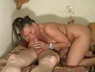 Lovely mature couple wants to have wonderful sex and to shoot their first home video