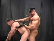 Muscled men with naughty dreams fucking from behind and enjoying cumshots