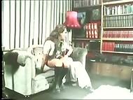 Винтажное порно видео с Fanni Tutti, участвующей в горячей групповушке 8