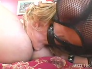 Two curly fellows get penetrated their hot Latin babe in all her attractive shaved holles 4