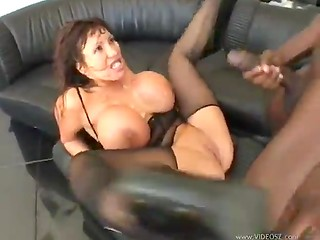 Horny guys fuck Asian babe with nice tits in mouth, pussy and arse