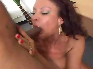 Mature office worker having a break with a dick in her pussy