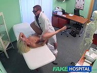 Horny doctor fucks every sexy patient in his cabinet and films it on hidden cameras