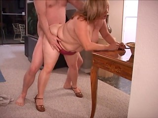 Amateur dirty women enjoy slow anal pounding