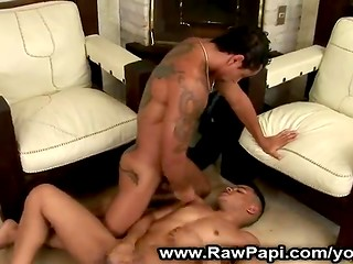 Handsome Latina boys give each other wonderful and unforgettable pleasure