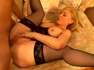 Gorgeous Mrs. Hartley gets her pussy filled with young cock