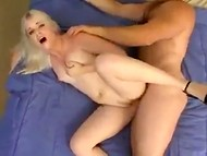 Strong man penetrated hard his tattooed babe with sexy elastic body in doggystyle