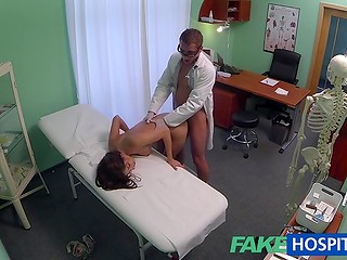 FakeHospital: the doctor examined the patient and paid particular attention to her pussy